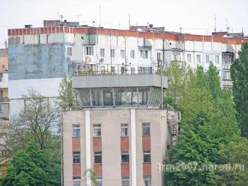 Вышка авиадиспетчера Одесского школьного аэродрома