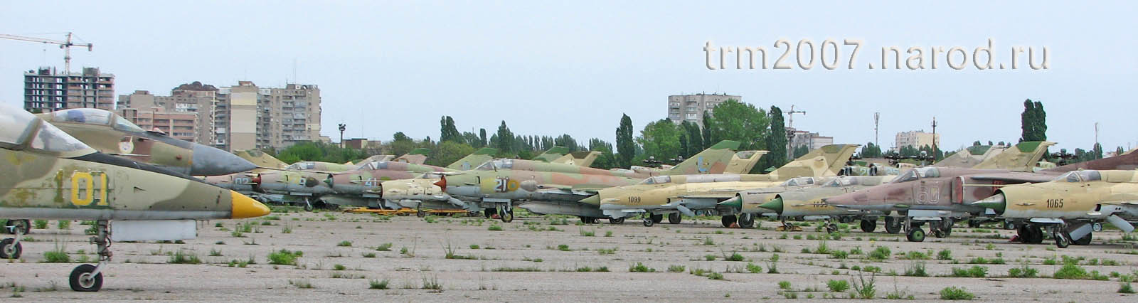 МИГ-21, Л-39 и МИГ-25