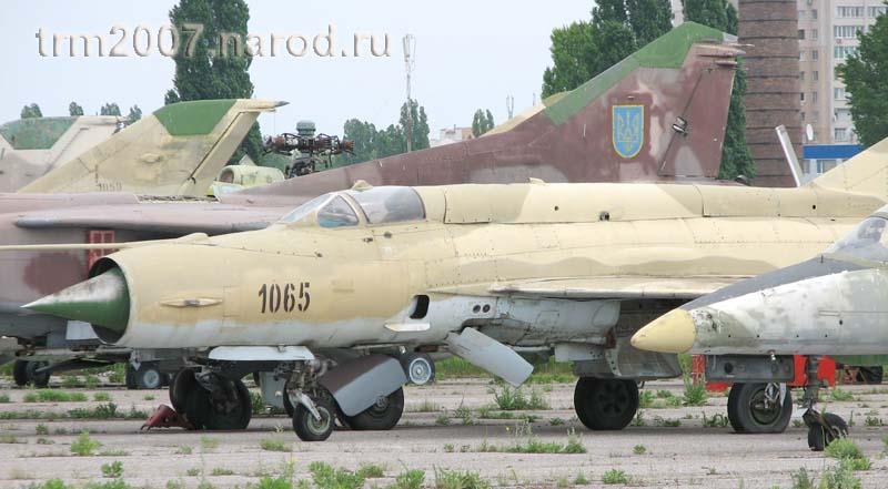 МИГ-21 Одесса, Школьный аэродром