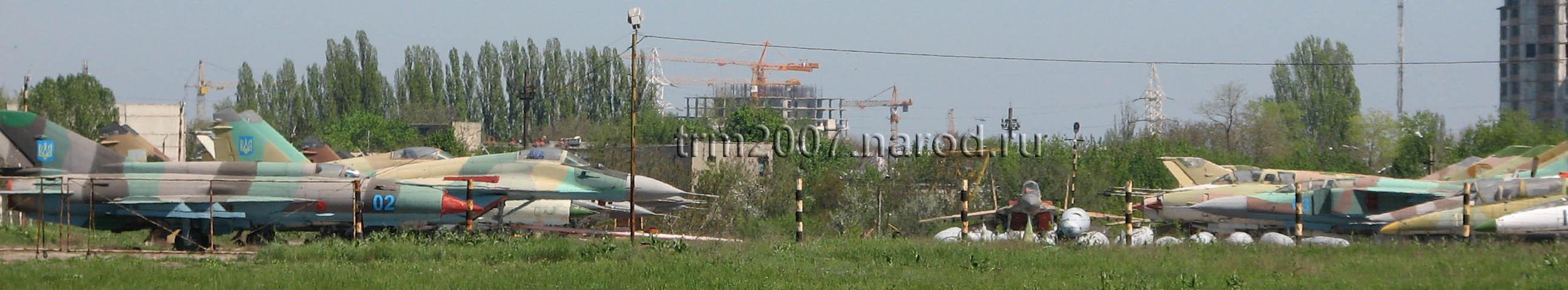 Истребители и перехватчики МИГ-21, МИГ-25, МИГ-29 и СУ-27 Одесса, Украина