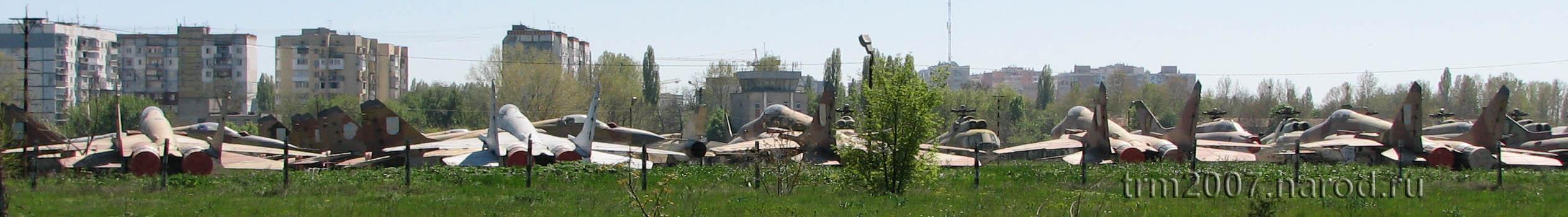Остатки Украинских ВВС Одесса, Школьный аэродром