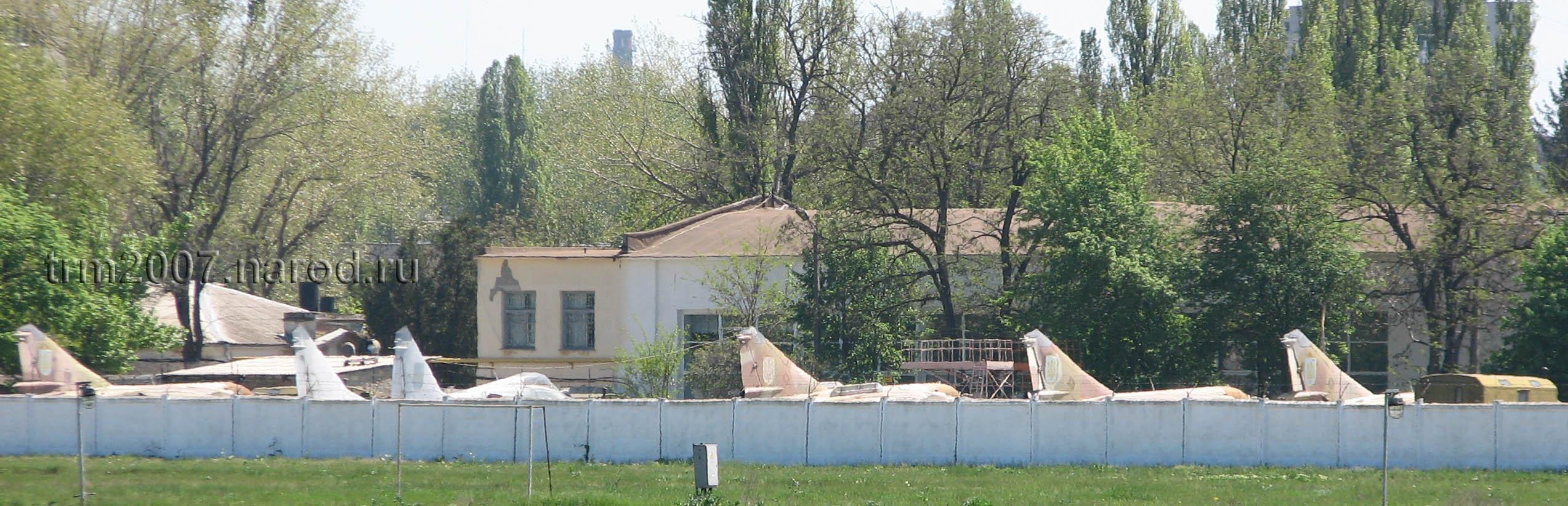 Авиаремонтный завод в Одессе