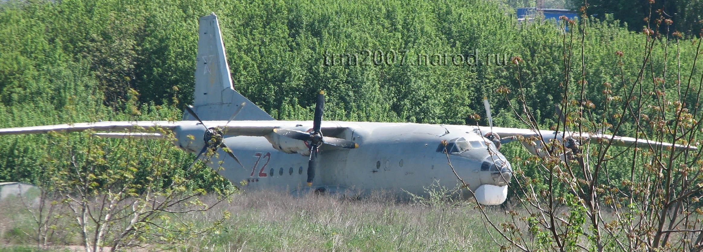Транспортник АН-12 - мечтает вернуться в небо