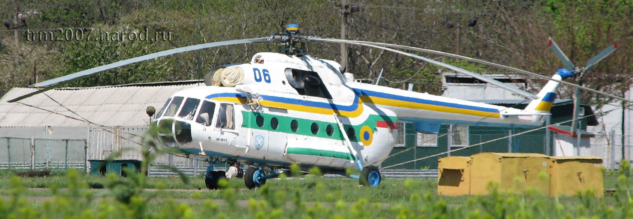 Летный МИ-8МТ