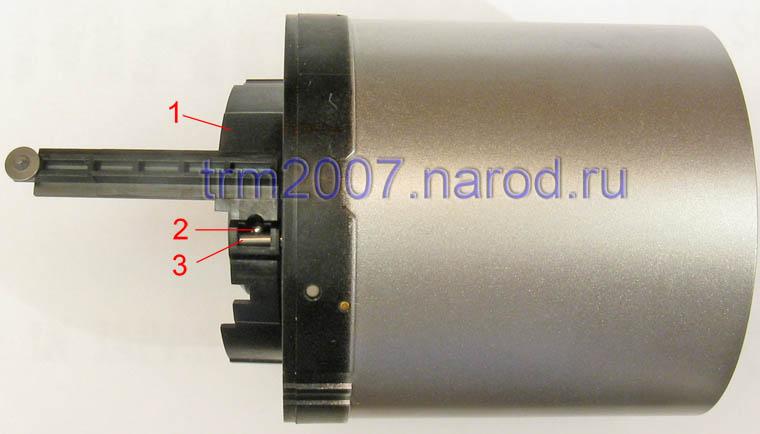 Передняя часть объектива Canon PowerShot S2 IS с подвижной линзой