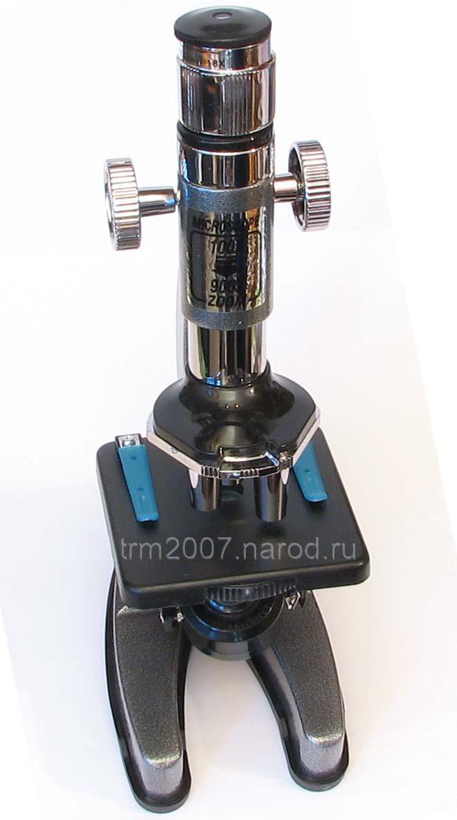 Микроскоп EDU-TOYS MS903 с тремя объективами с пластиковыми линзами